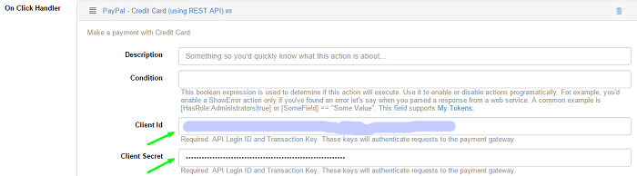 PayPal - Credit Card (using REST API) | DNN Sharp Documentation Center